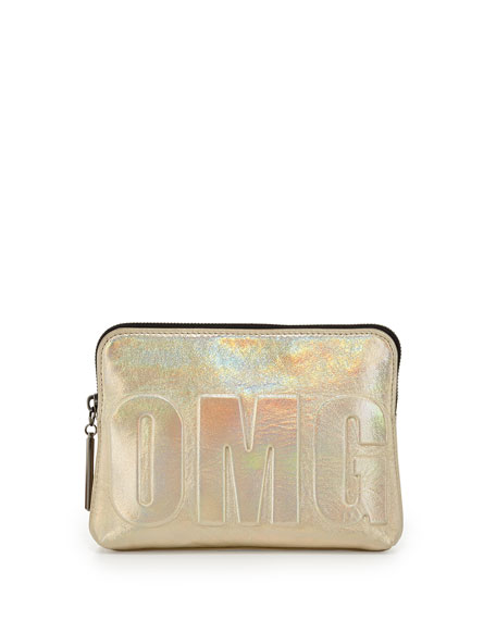 "31-Second ""OMG"" Pouch, Warm Silver"