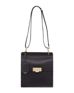 Balenciaga Le Dix Besace Shoulder Bag, Black