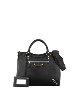 Balenciaga Giant 12 Golden Velo Bag, Black