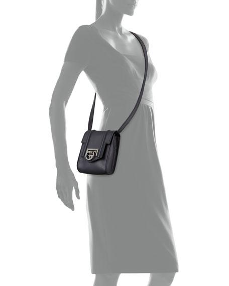 3b1c07b6422c Reece Hudson Siren Mini Leather Crossbody Bag