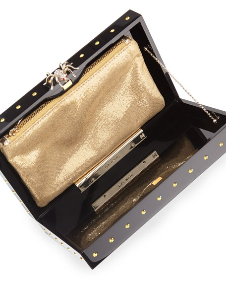 Pandora Rhinestone Clutch Bag