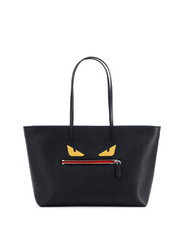 Monster Tote Bag, Black Multi