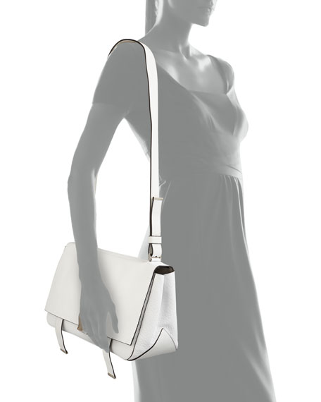 PS Courier Shoulder Bag, White