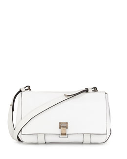 Proenza Schouler PS Courier Shoulder Bag, White