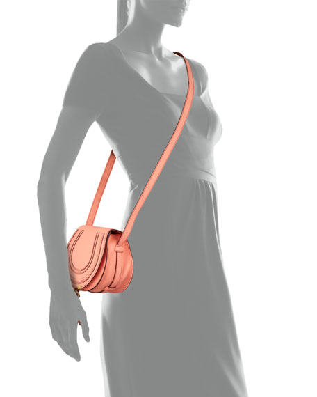 Marcie Small Crossbody Bag, Coral