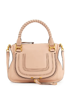 Chloe Marcie Medium Shoulder Bag, Blush Nude