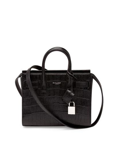 Sac de Jour Mini Crossbody Bag, Black