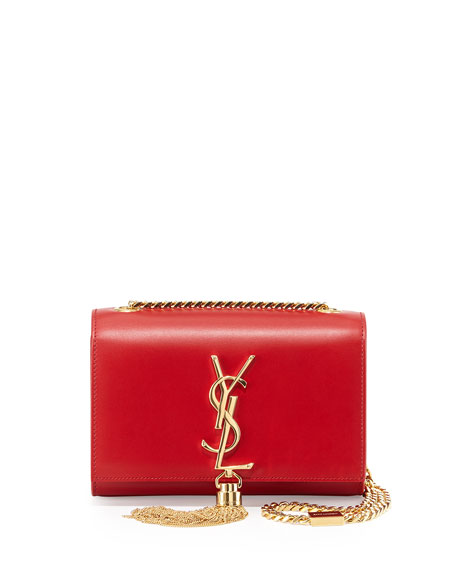Monogram Small Crossbody Bag, Red