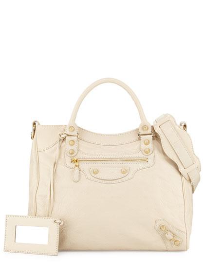 Balenciaga Giant 12 Golden City Tote Bag, Cream