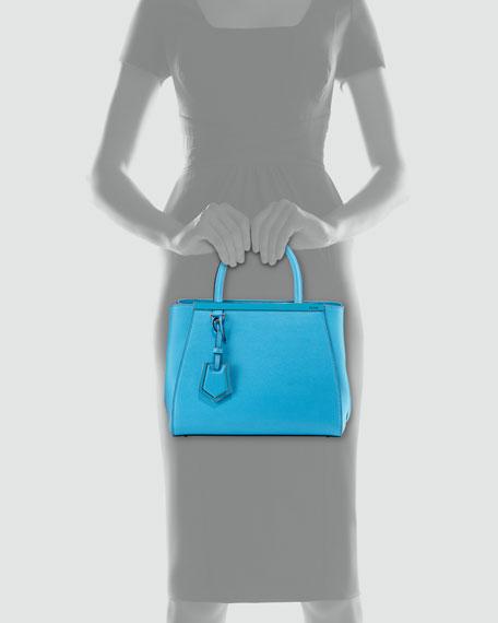 2Jours Mini Shopping Tote, Medium Blue