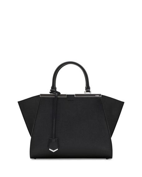 e8d1070b4bbc Fendi Trois-Jour Mini Shopping Tote Bag