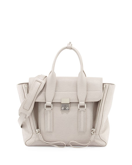 3.1 Phillip Lim Pashli Medium Satchel Bag, Feather