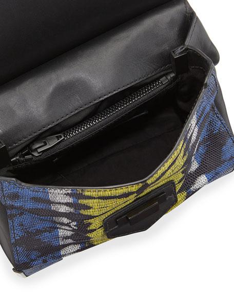 Marion Prisma Skeletal Embossed Shoulder Bag