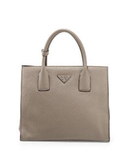 Daino Tote Bag, Light Gray (Argilla)