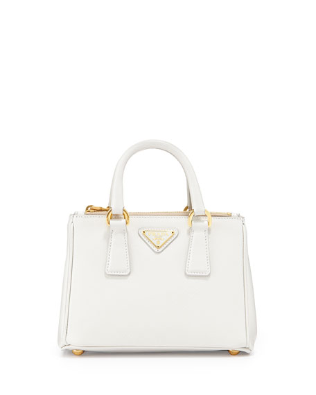 mini white prada bag