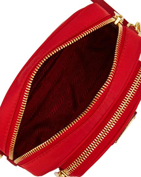 63d70feecb9c Prada Tessuto Small Pocket Crossbody Bag, Red (Rosso)