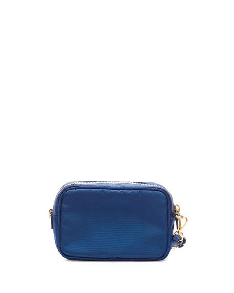 69784a6f706b Prada Tessuto Small Pocket Crossbody Bag, Royal Blue (Royal)