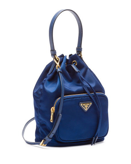 1309fd700ea Tessuto Mini Bucket Crossbody Bag Royal Blue (Royal)
