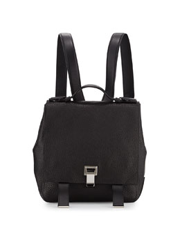 PS Courier Small Backpack, Black