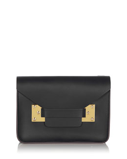 Mini Milner Clutch Bag, Black