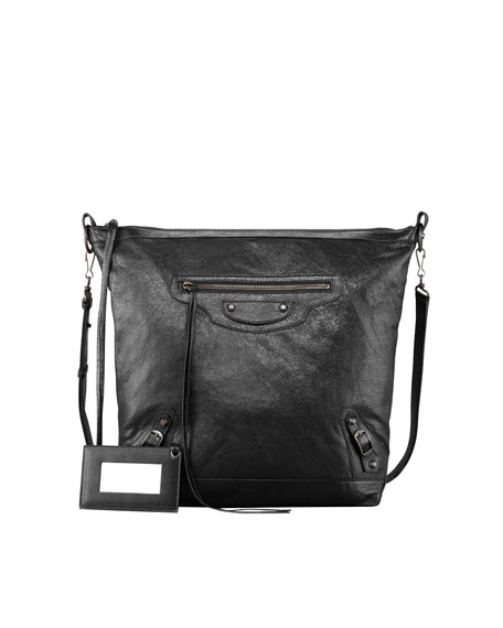 Classic Day Crossbody Bag, Black