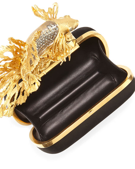 Fish Knuckle Box Clutch Bag