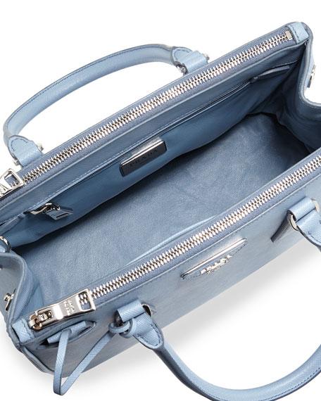 5508e341ab Prada Saffiano Lux Double-Zip Tote Bag