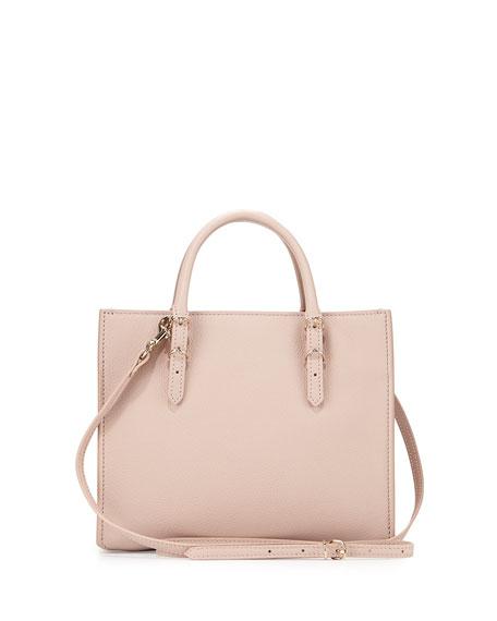 Papier Mini A4 AJ Tote Bag, Light Pink
