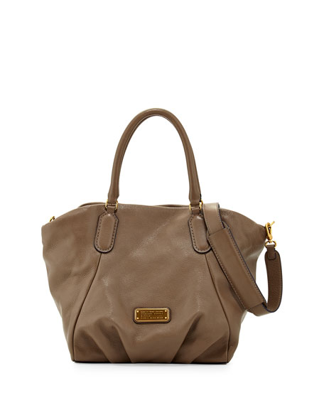 21025ad929 MARC by Marc Jacobs New Q Fran Leather Tote Bag, Puma Taupe