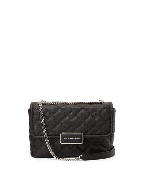 MARC by Marc Jacobs Rebel 24 Quilted Crossbody Bag, Black : marc jacobs black quilted bag - Adamdwight.com