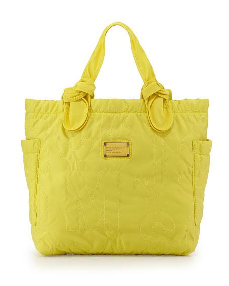 MARC by Marc Jacobs Pretty Nylon Tate Medium Tote Bag, Banana Creme 1042a3dc2787