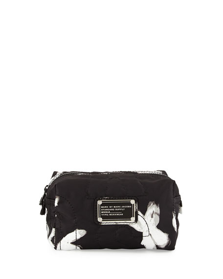 323add7b2fa6 MARC by Marc Jacobs Pretty Nylon Painted Flower Cosmetics Bag