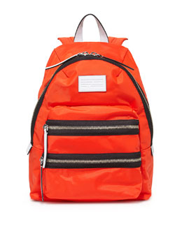 Domo Arigato Mini Packrat Backpack, Bright Tangelo