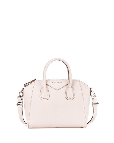 Antigona Sugar Small Satchel Bag, Nude