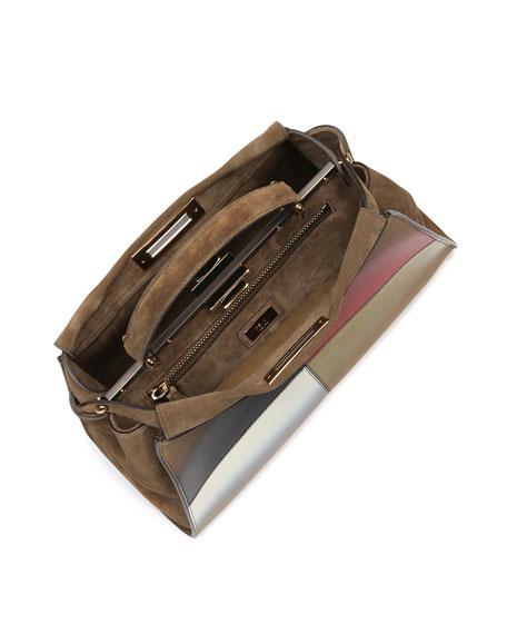 Peekaboo Medium Gradient Calf Bag