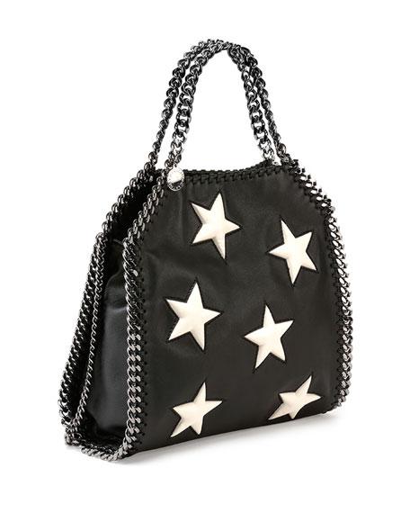 Stella McCartney Falabella Mini Star Shoulder Bag, Black
