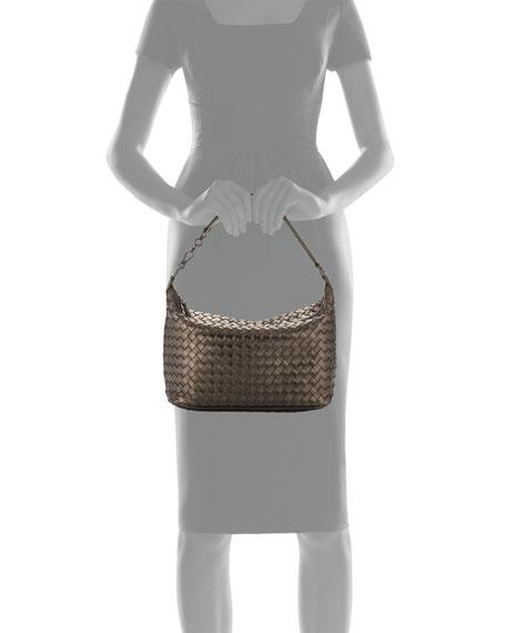 1fab0a129b99c Bottega Veneta Intrecciato Leather Small Shoulder Bag