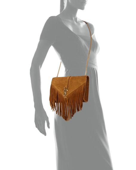 cf3d613cf4e6 ... Shoulder Bags - 503816861 size 40 9a781 aeaa0  Monogram Medium Suede  Fringe Crossbody Bag