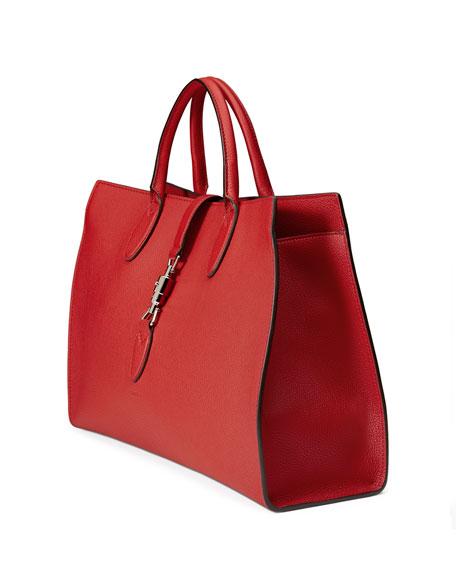 b3544676d2 Gucci Jackie Soft Medium Tote Bag
