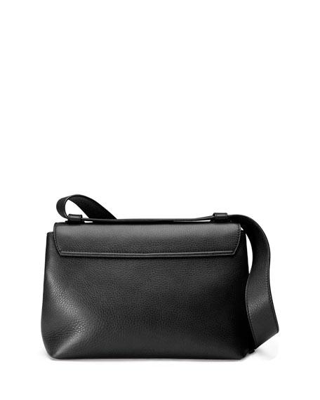 726eb4d23 Gucci GG Marmont Medium Leather Shoulder Bag, Black