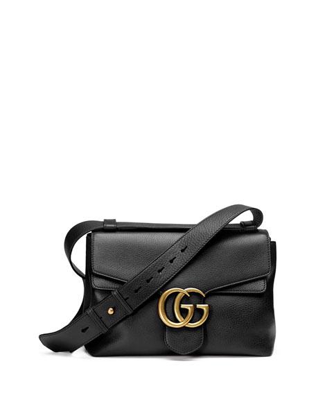 cf11ce2bb0f Gucci GG Marmont Medium Leather Shoulder Bag