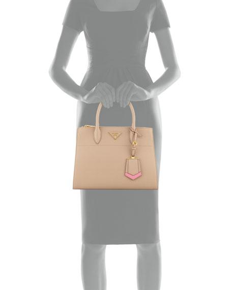 0f376afdf4e8 Prada Medium Saffiano Greca Paradigm Tote Bag