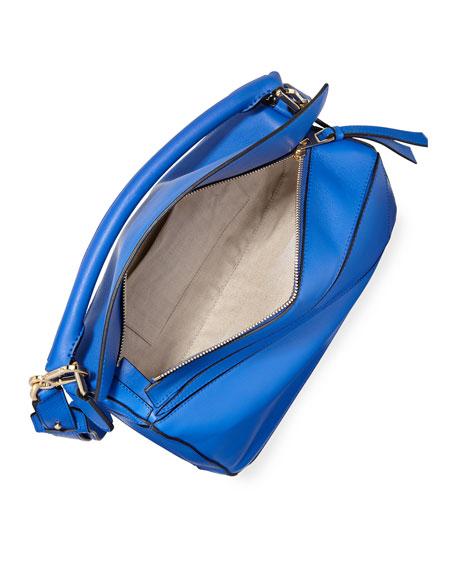 Puzzle Medium Leather Satchel Bag