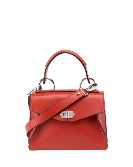 Proenza Schouler Hava Medium Top-Handle Satchel Bag, Brick
