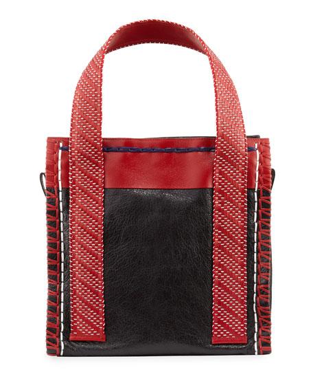 Small Scaffold Tote Bag, Black