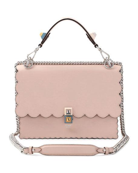 Buy Cheap Enjoy Free Shipping Manchester Pink Scalloped Kan I Bag Fendi Discount Footlocker Free Shipping 2018 Buy Cheap Online b0xpz