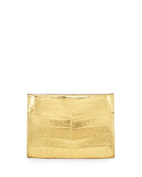 Nancy Gonzalez Crocodile Small Clutch Bag