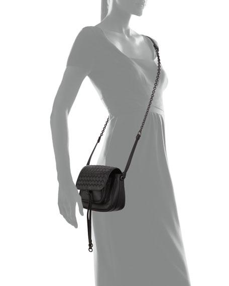 a5d75f6616f9 Bottega Veneta New Tie Mini Saddle Bag