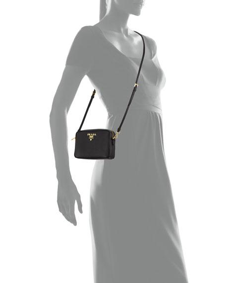 b4eb5b149 Prada Small Saffiano Leather Camera Crossbody Bag