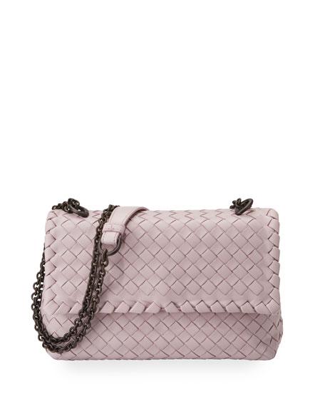 Baby Olimpia Intrecciato Shoulder Bag
